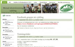 Morud idrætsforening Cykling