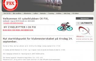 Cykelklubben CK FIX Sjælland Rødovre